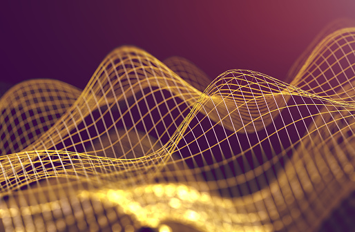 868704438 istock photo Mesh or net with lines and geometrics shapes detail.3d illustration 1069712556