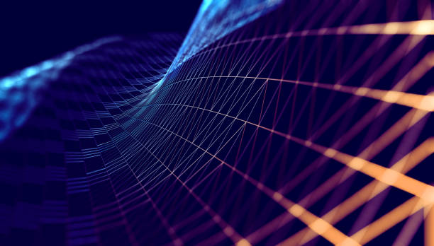 science and technology abstract background