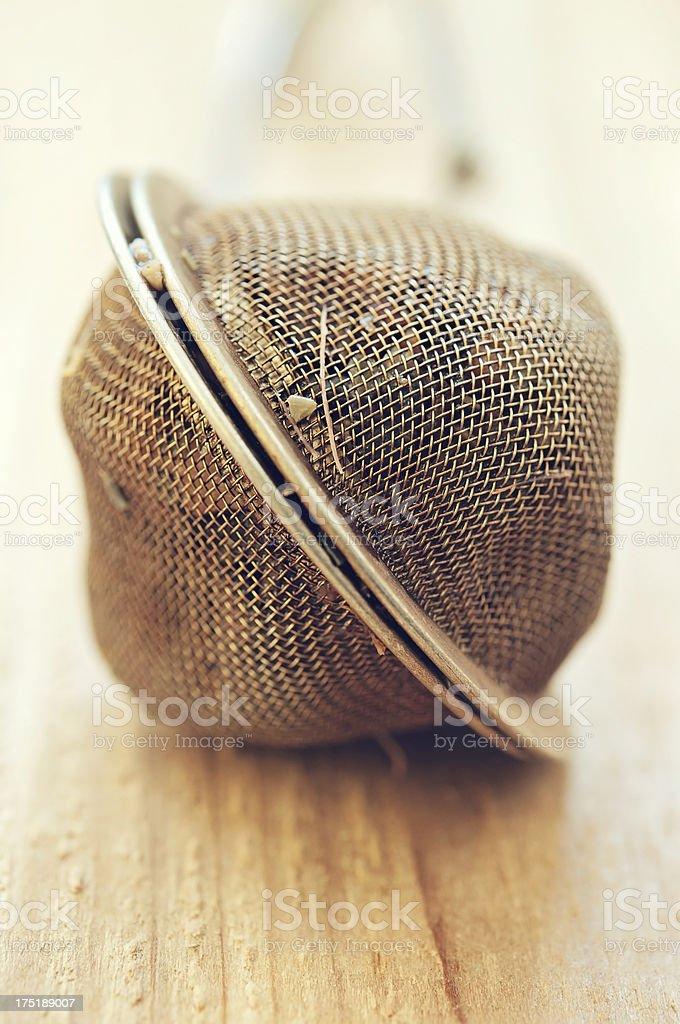 Mesh Tea Infuser royalty-free stock photo
