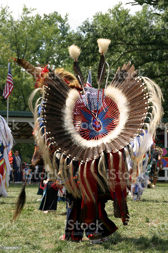 Meskwaki PowWow - Full Regalia royalty-free stock photo