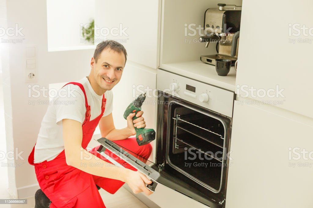 Mess Equipment in the Kitchen and Discouraged Man