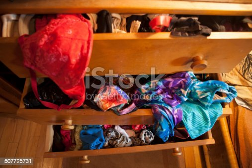 Mess in a drawer