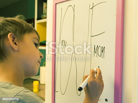 istock message for mother 693454210
