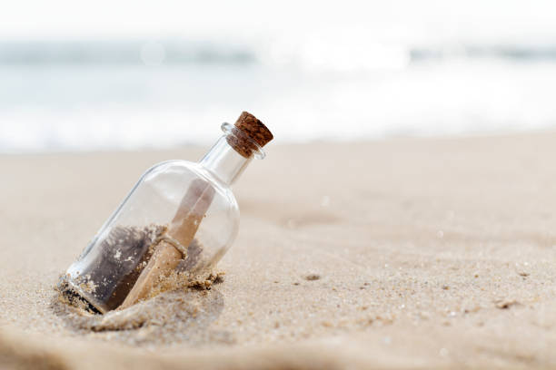 message in a bottle - Photo