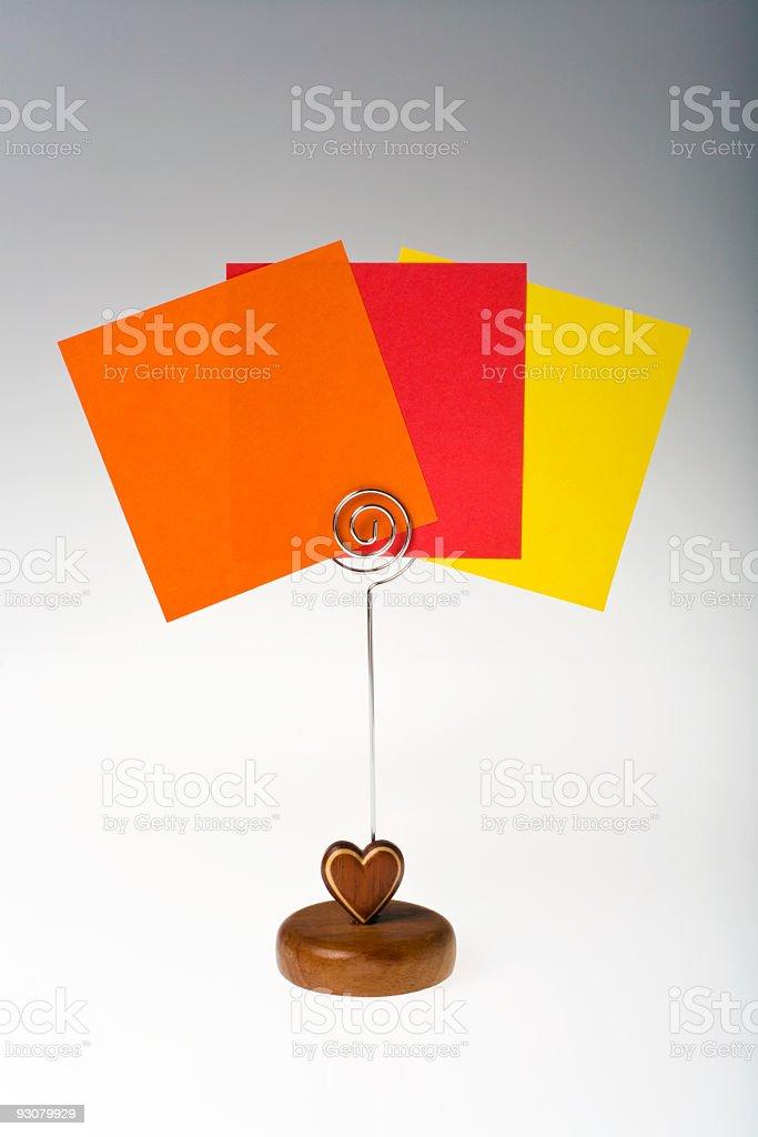 messaggi colorati stock photo