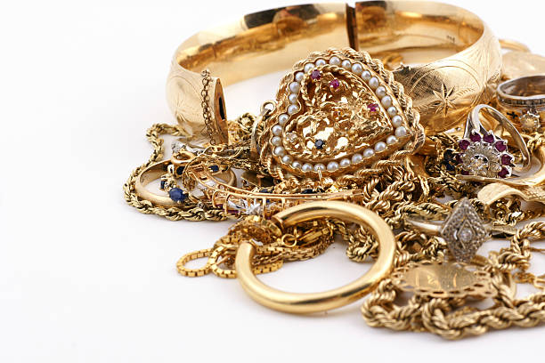 Best Gold Jewelry Stock Photos, Pictures & Royalty-Free