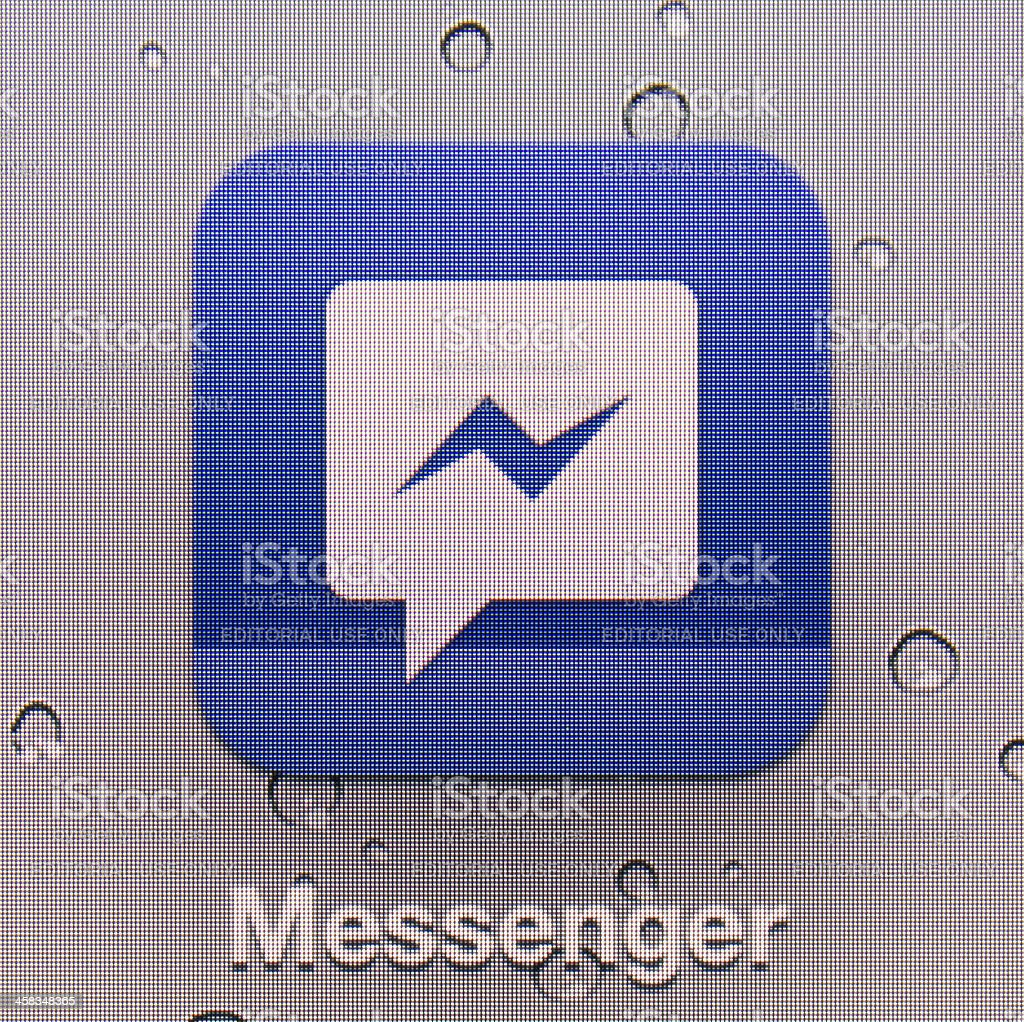 Messenger royalty-free stock photo