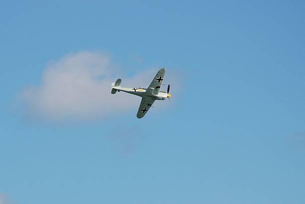 Messerschmitt ME109 fighter stock photo