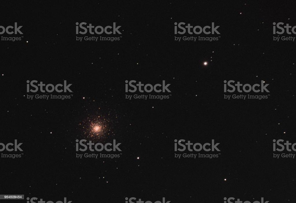 Messier 3 Globular Cluster stock photo