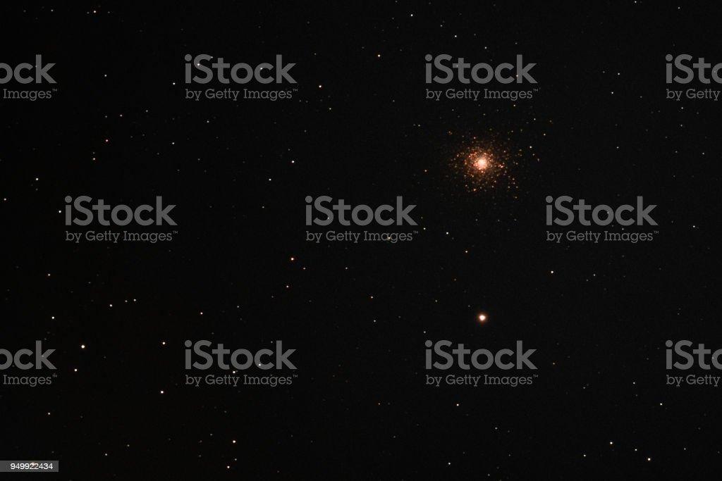 Messier 5 Globular Cluster stock photo