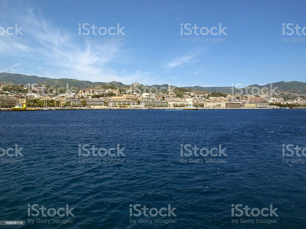 Messina royalty-free stock photo