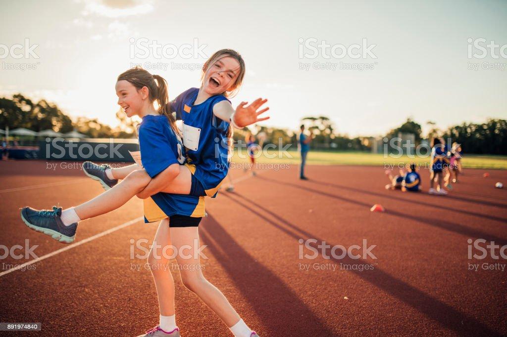 Déconner au Club d'athlétisme - Photo