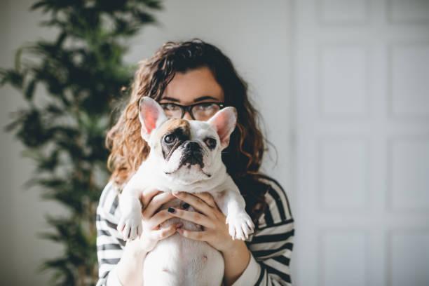 Herumspielen mit meinem Hund... – Foto