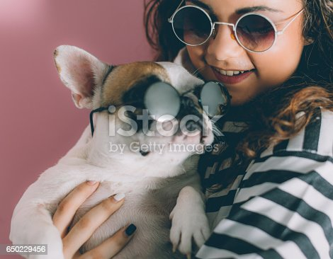 646224594istockphoto Messing around with my dog... 650229456