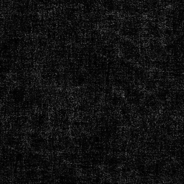 Messy dotty back and white velor - seamless upholstery textile in macro stock photo