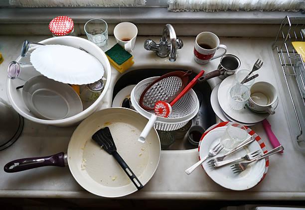 Unordentlich Küche – Foto