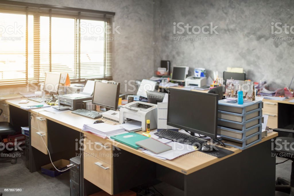 messy office pictures. messy office no body room royalty-free stock photo pictures