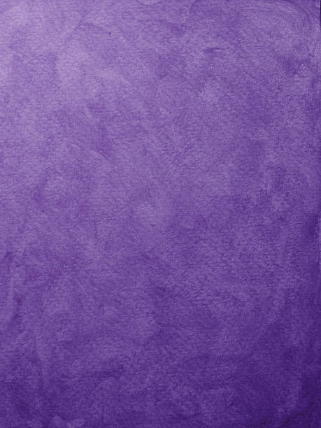 messy painted purple background - purple watercolor stock photos and pictures