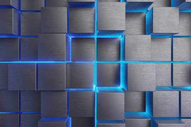 Metal Abstract. stock photo