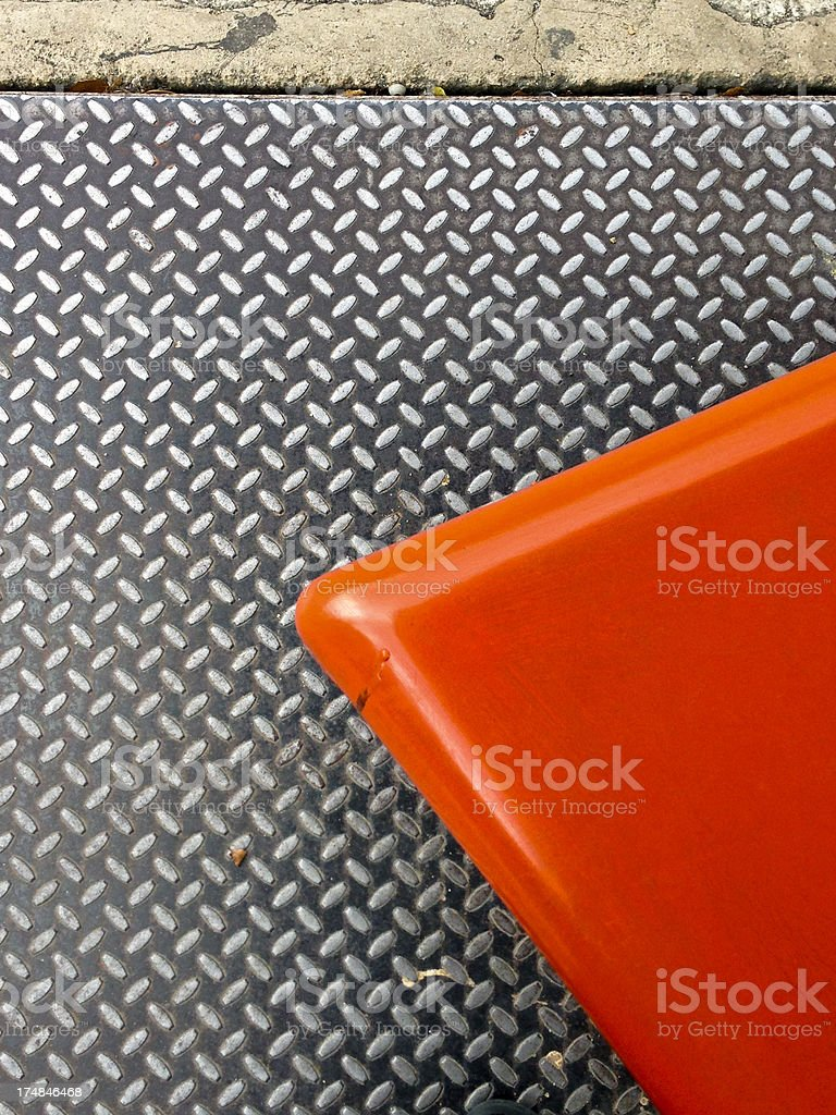 Metal and Plastic. royalty-free stock photo