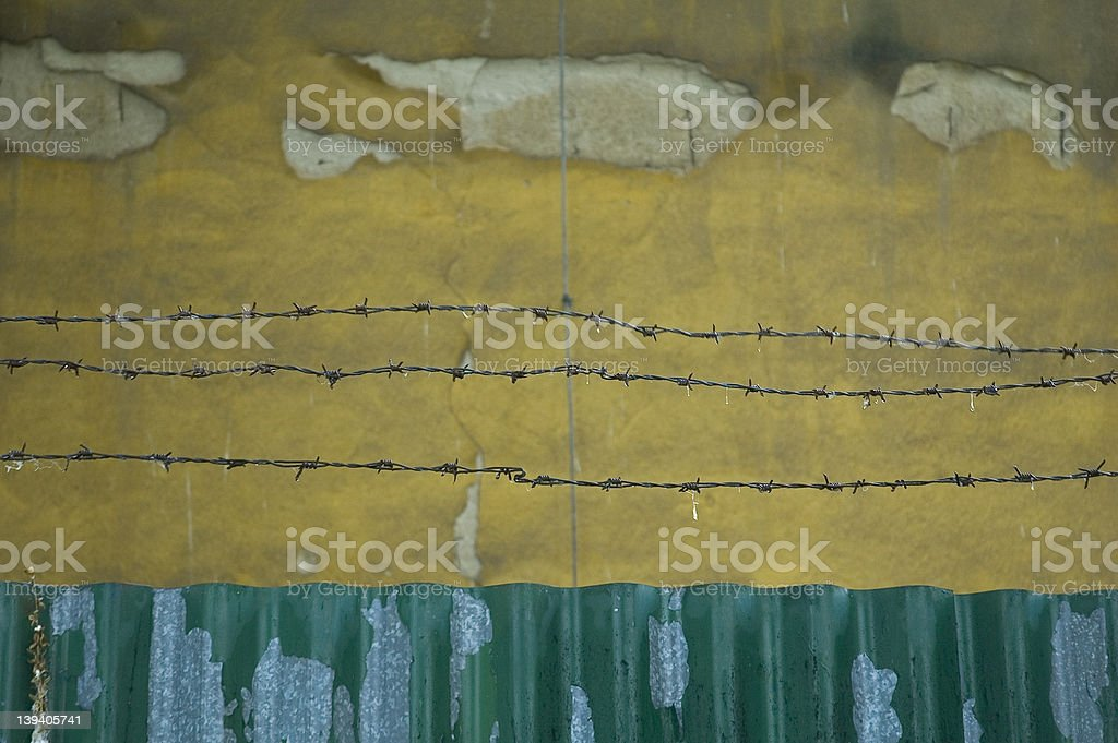 metal and wire royalty-free stock photo