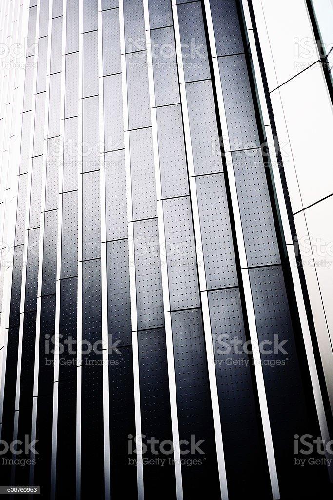 Metal architecture stock photo