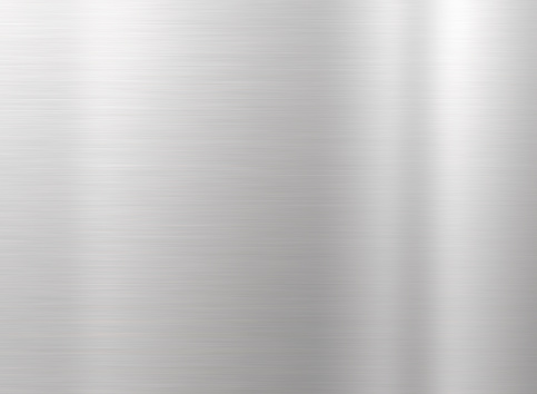 Brushed aluminum texture with light effects