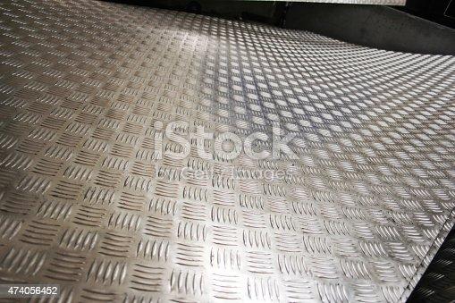 istock Metal background 474056452