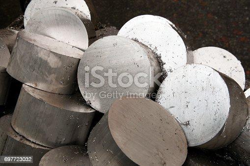 istock Metal Background 697723032