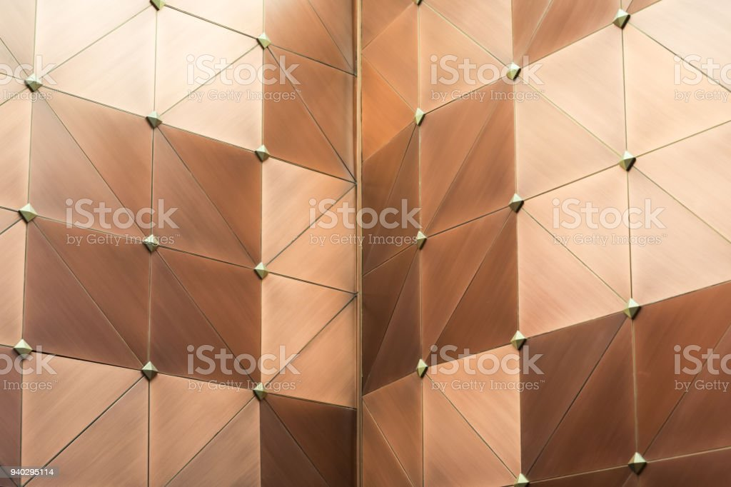 Metal background wall stock photo