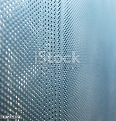 istock Metal background with diminishing perspective 1165771184