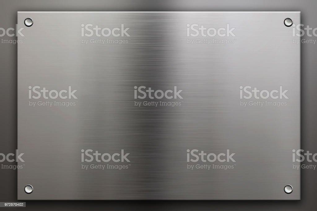 Metall Hintergrund mit Nieten – Foto