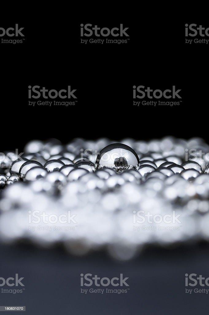 Metal Balls stock photo