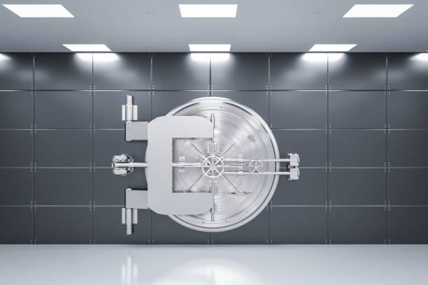 metall banktresor - safe stock-fotos und bilder