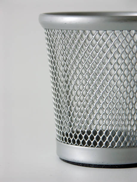 Metal Basket 4 stock photo