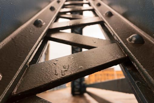 Metal Beam Industrial Structure