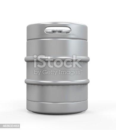 istock Metal Beer Keg 463633453