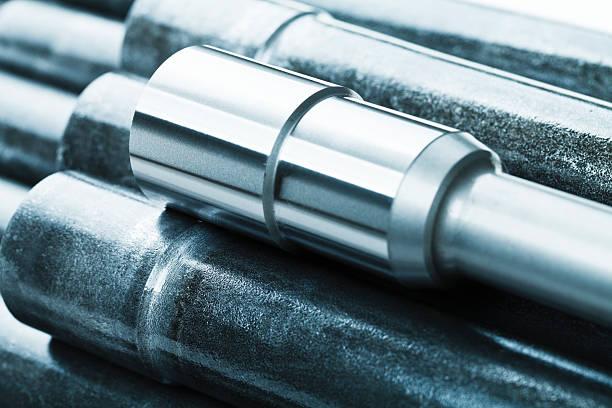 Metall blank machining – Foto