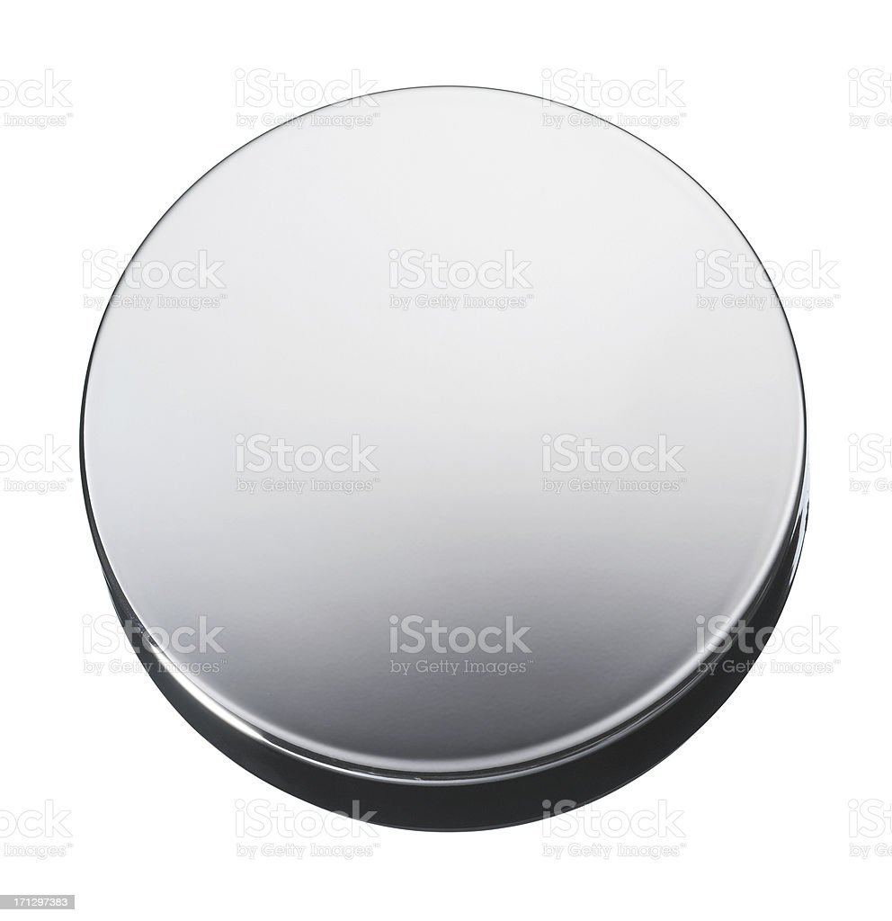 Metal box stock photo