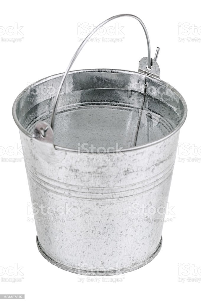 Metal Bucket With Water Stock Photo Download Image Now Istock