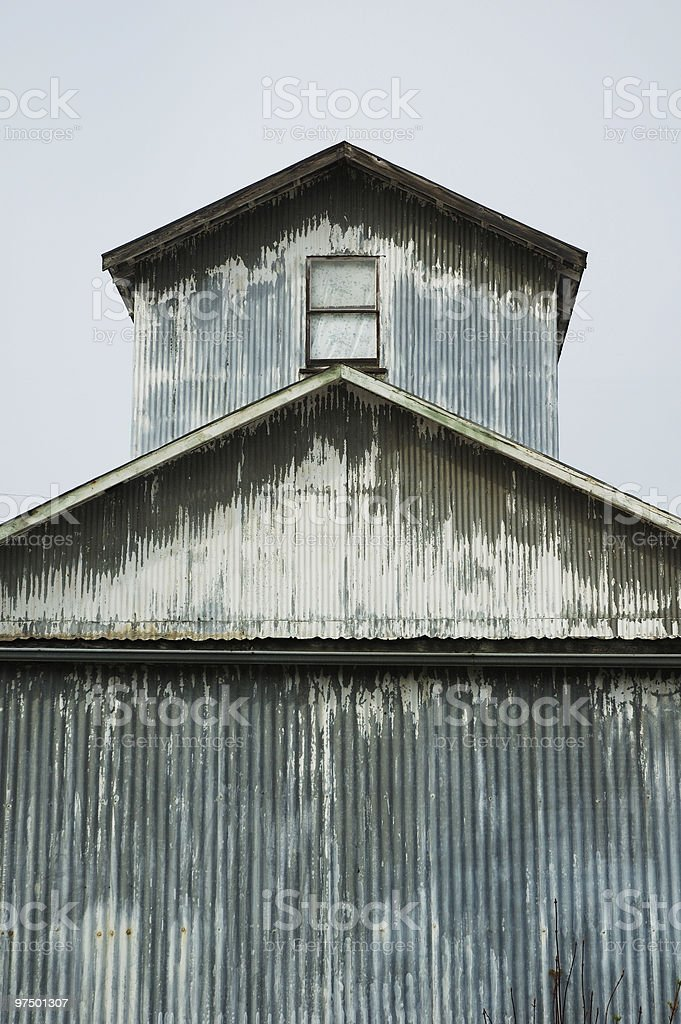 Metal Building royalty-free stock photo