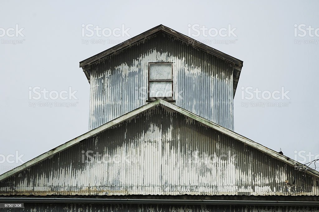 Metal Building royalty-free stock photo