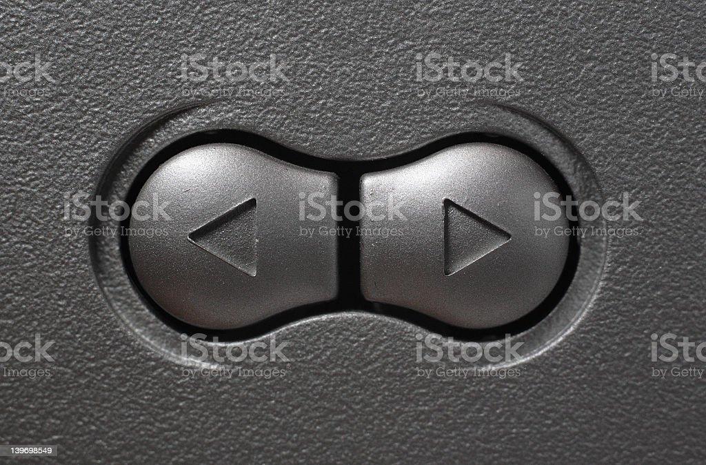 Metal button royalty-free stock photo