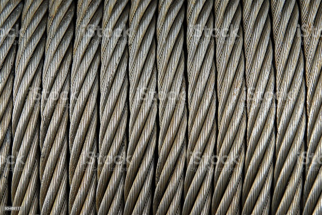 Metal Cable royalty-free stock photo