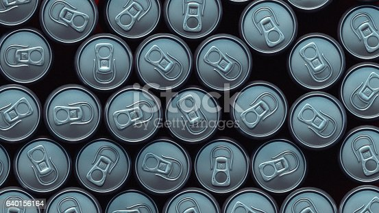 istock Metal can pattern 3d rendering 640156164