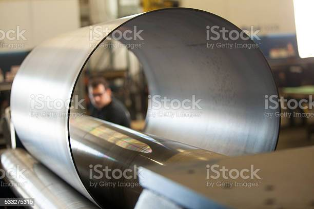 Metall Circle Stockfoto und mehr Bilder von Metall