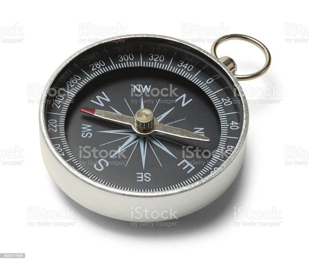 Metal Compass stock photo
