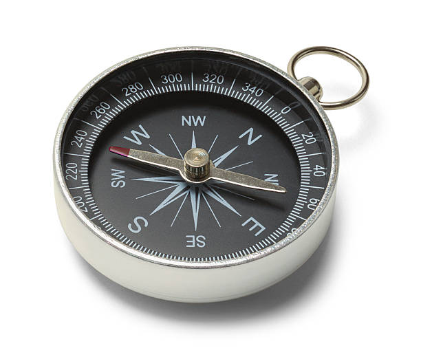 Metal Compass stock photo