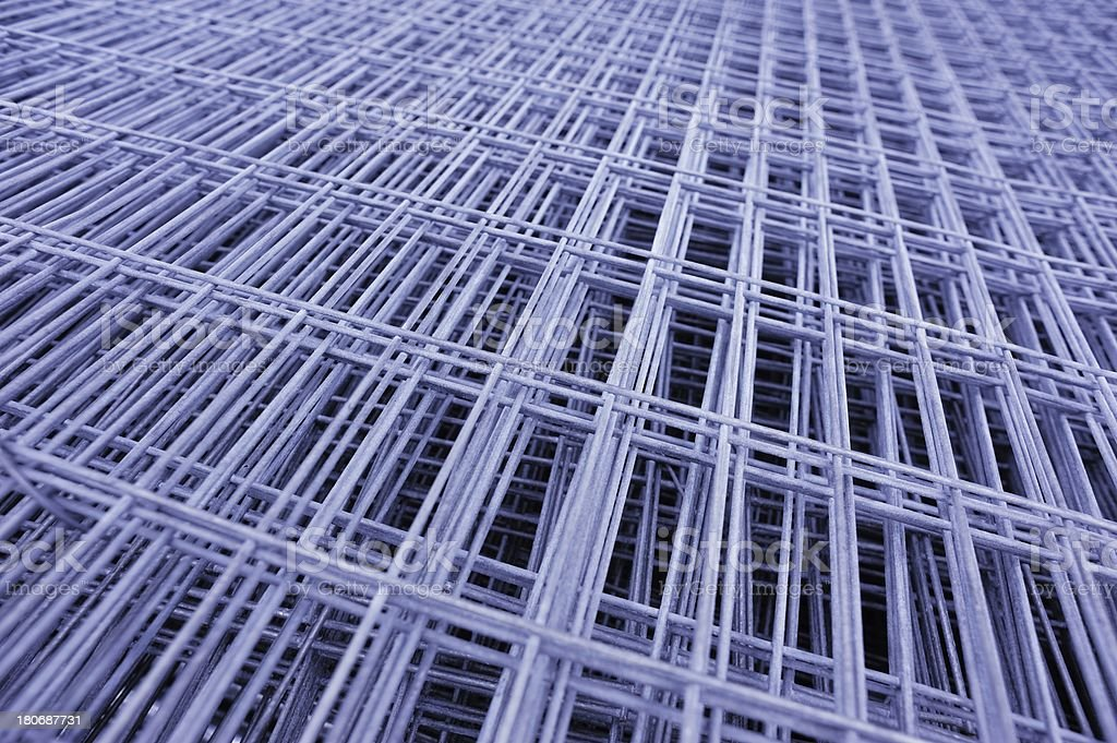 metal construction materials royalty-free stock photo