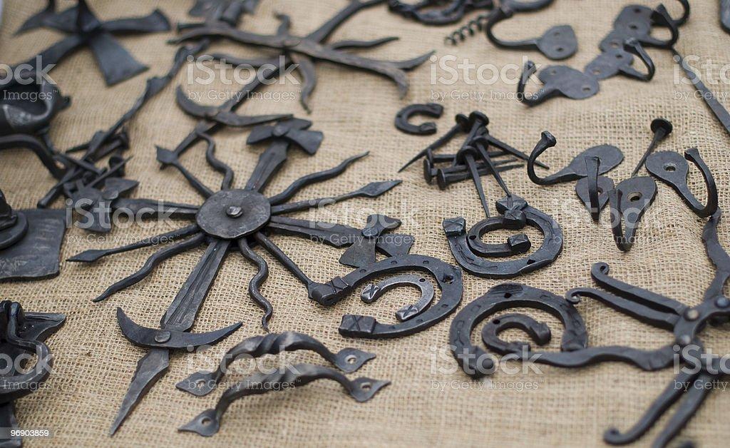 Metal creatures royalty-free stock photo